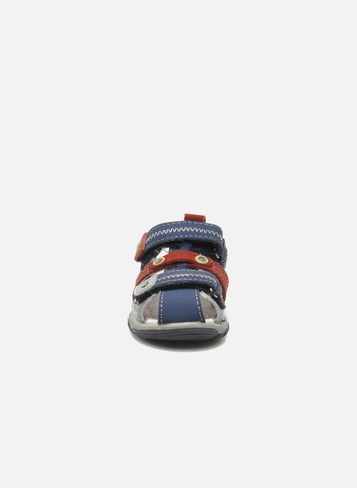 Sandales et nu-pieds Bopy COLD Gris vue portées chaussures