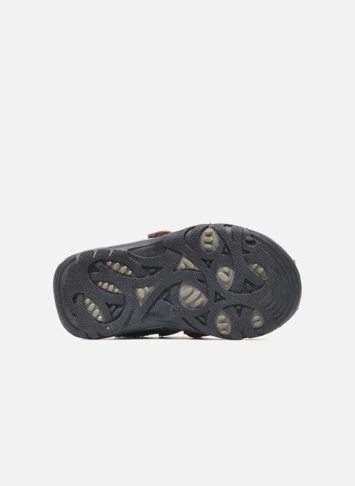 Sandales et nu-pieds Bopy COLD Gris vue haut