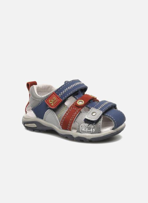 Sandales et nu-pieds Bopy COLD Gris vue détail/paire