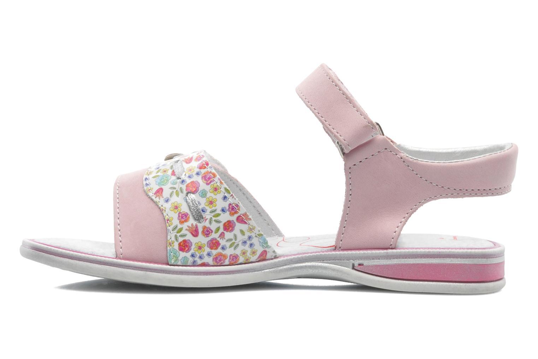 Sandales et nu-pieds Bopy ELOANE Rose vue face