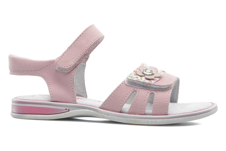 Sandales et nu-pieds Bopy ELOANE Rose vue derrière