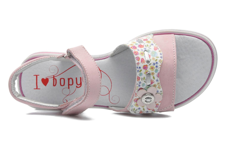 Sandales et nu-pieds Bopy ELOANE Rose vue gauche