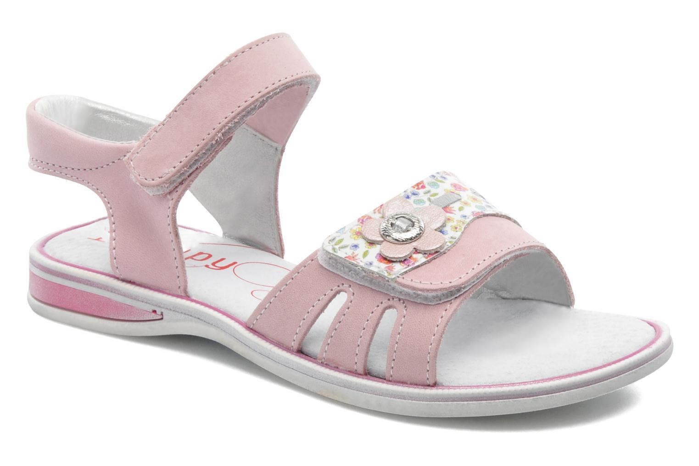 Sandales et nu-pieds Bopy ELOANE Rose vue détail/paire