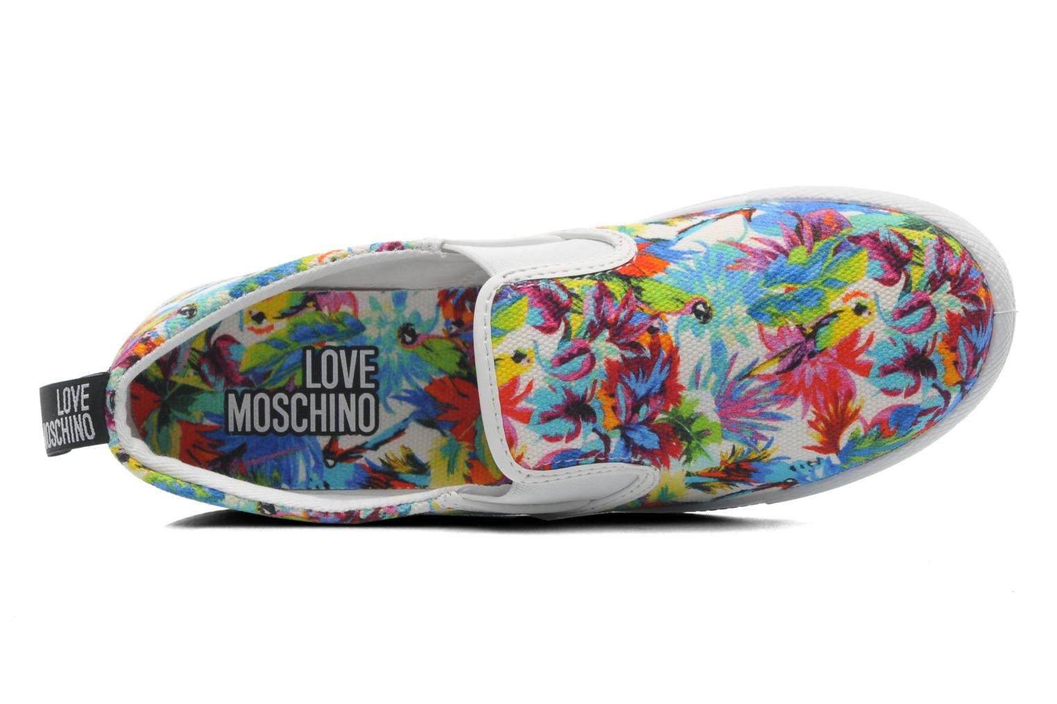 Baskets Love Moschino Love Taila Multicolore vue gauche