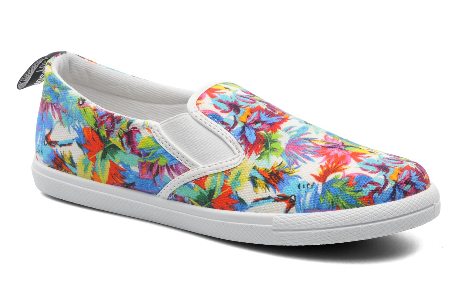 Baskets Love Moschino Love Taila Multicolore vue détail/paire
