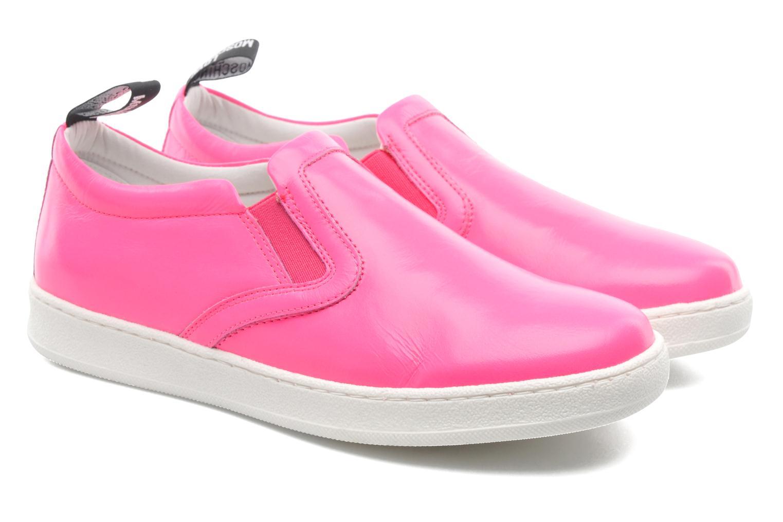 Sneakers Love Moschino Love Tasha Rosa immagine 3/4