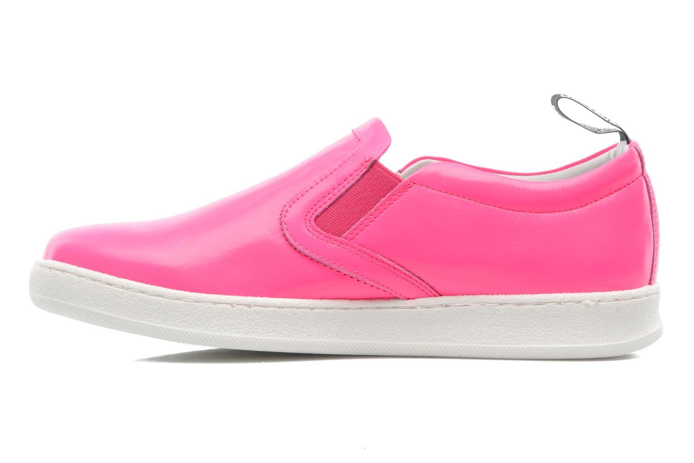Sneakers Love Moschino Love Tasha Rosa immagine frontale