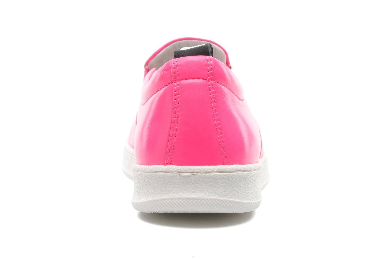 Sneakers Love Moschino Love Tasha Rosa immagine destra