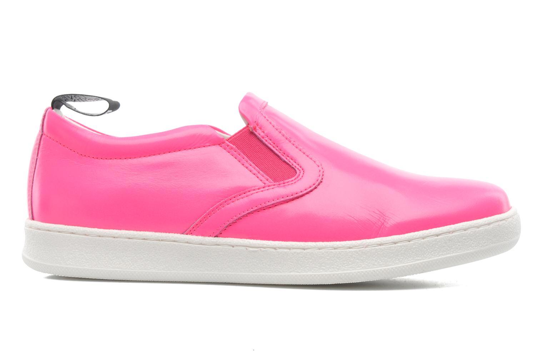 Sneakers Love Moschino Love Tasha Rosa immagine posteriore