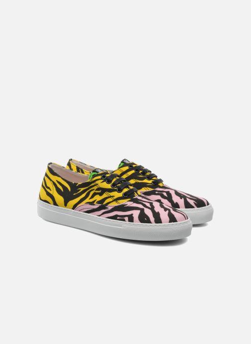 Sneakers Moschino Cheap & Chic Animalier 2 Multi 3/4 bild
