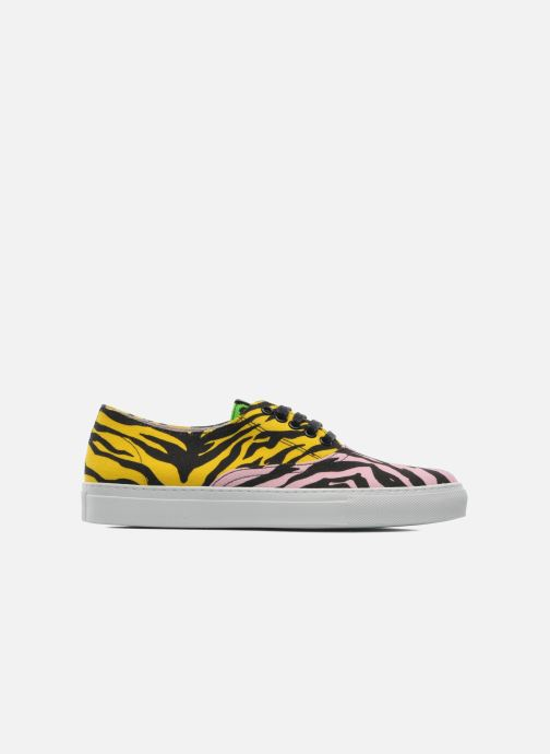 Sneakers Moschino Cheap & Chic Animalier 2 Multi bild från baksidan