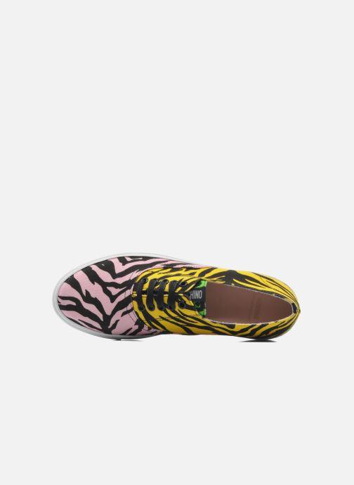 Baskets Moschino Cheap & Chic Animalier 2 Multicolore vue gauche