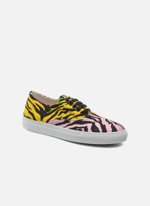 Baskets Moschino Cheap & Chic Animalier 2 Multicolore vue détail/paire