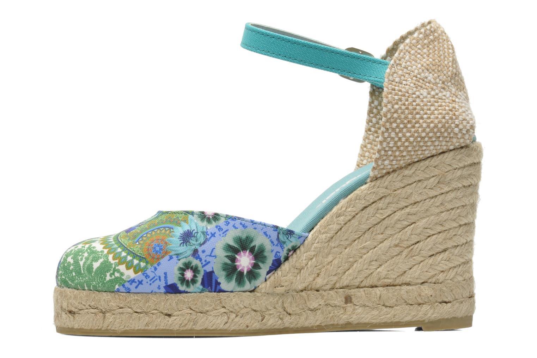Sandales et nu-pieds Desigual Silla Multicolore vue face