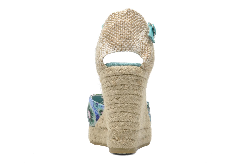 Sandales et nu-pieds Desigual Silla Multicolore vue droite