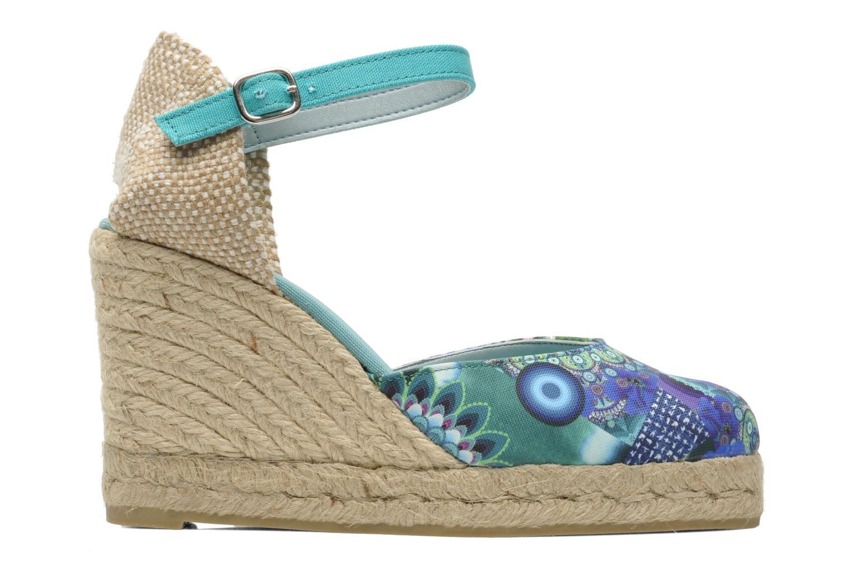 Sandales et nu-pieds Desigual Silla Multicolore vue derrière