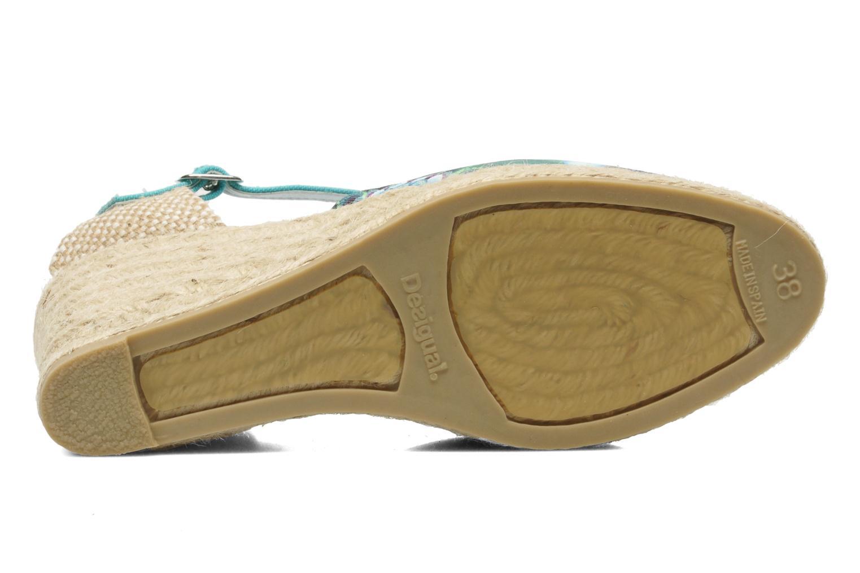 Sandales et nu-pieds Desigual Silla Multicolore vue haut