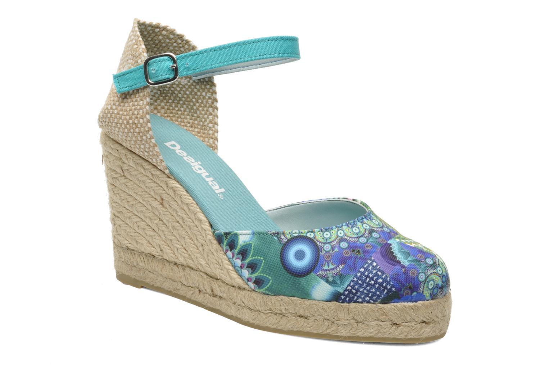 Sandales et nu-pieds Desigual Silla Multicolore vue détail/paire