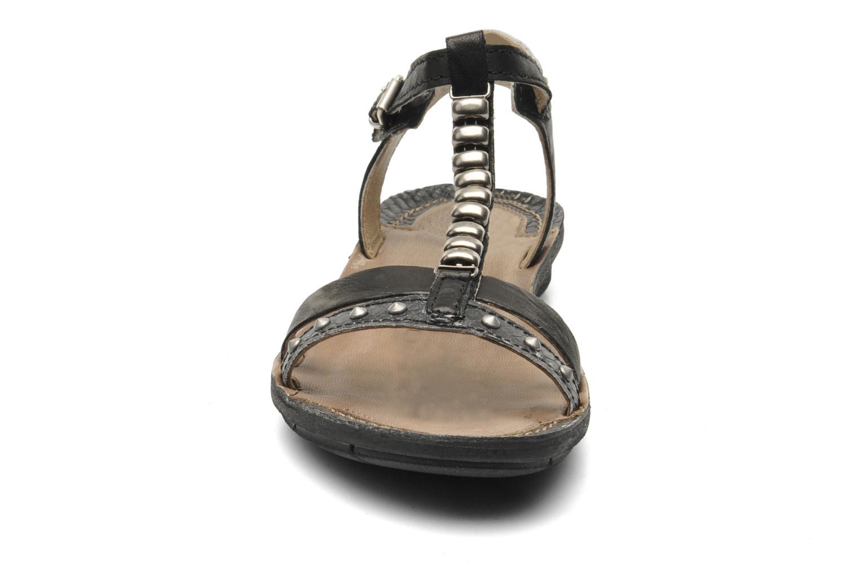 Sandales et nu-pieds Khrio Amy Noir vue portées chaussures