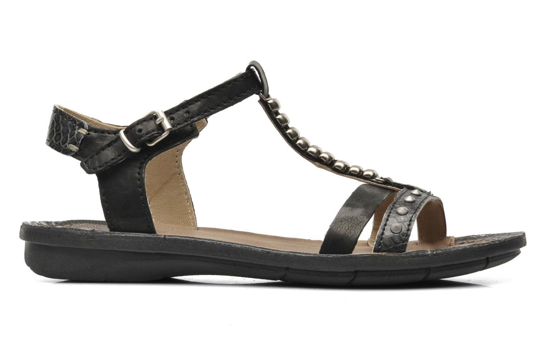 Sandales et nu-pieds Khrio Amy Noir vue derrière