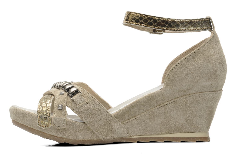 Sandales et nu-pieds Khrio Lou N Gris vue face