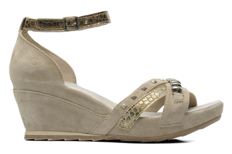 Sandales et nu-pieds Khrio Lou N Gris vue derrière