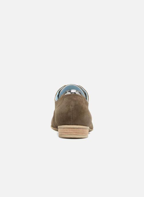 Chaussures à lacets Dorking Candy 5058 Vert vue droite