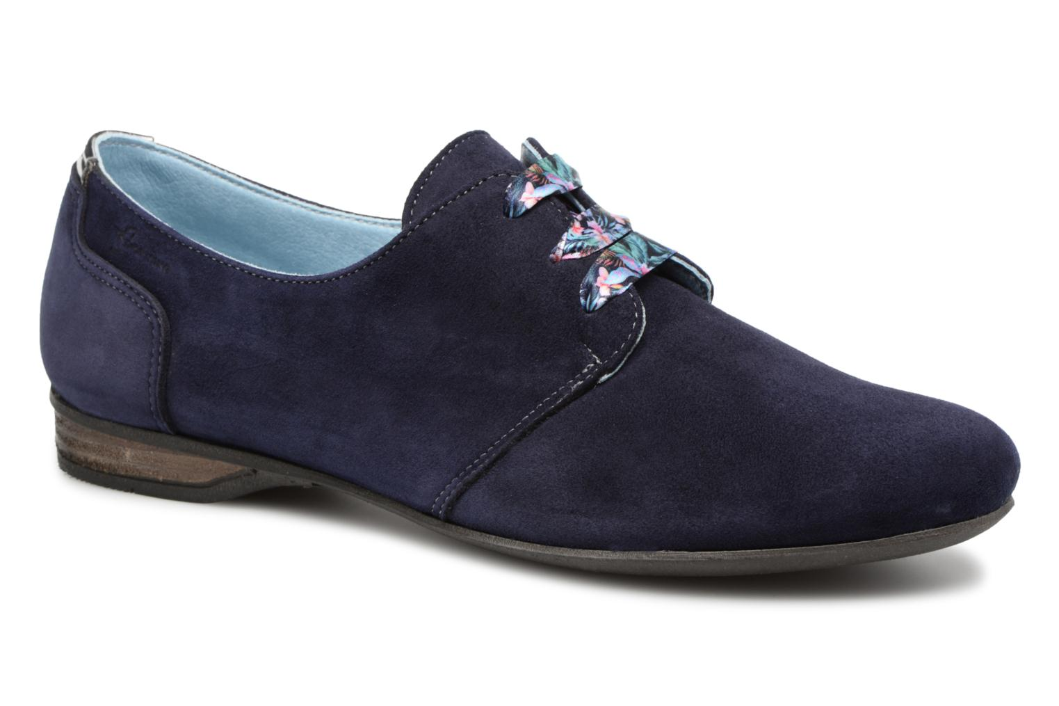 Lace-up shoes Dorking Candy 5058 Blue detailed view/ Pair view