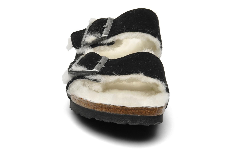 Clogs og træsko Birkenstock Arizona Velours-Fourrure W Sort se skoene på