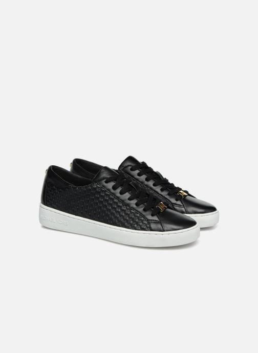 Baskets Michael Michael Kors Colby Sneaker Noir vue 3/4