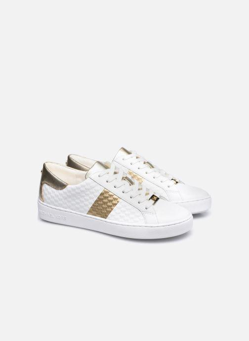 Baskets Michael Michael Kors Colby Sneaker Blanc vue 3/4