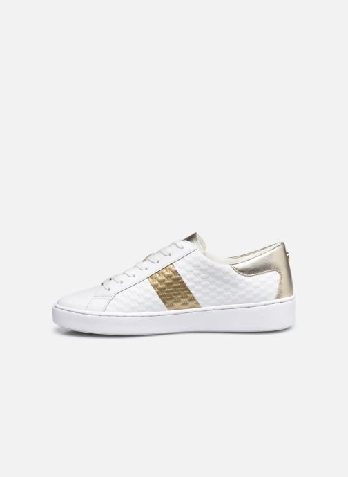 Baskets Michael Michael Kors Colby Sneaker Blanc vue face