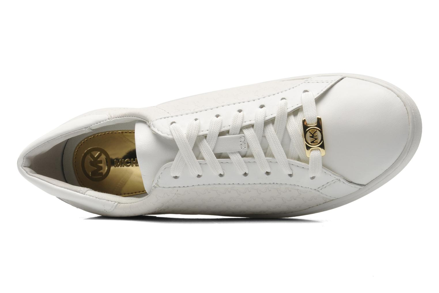 Sneakers Michael Michael Kors Colby Sneaker Bianco immagine sinistra