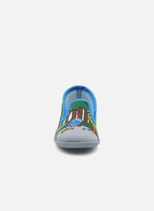 Chaussons Be Only Sans Gene Mr Malchance Multicolore vue portées chaussures