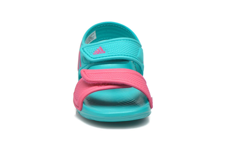 Sandales et nu-pieds Adidas Performance Akwah 9 I Vert vue portées chaussures
