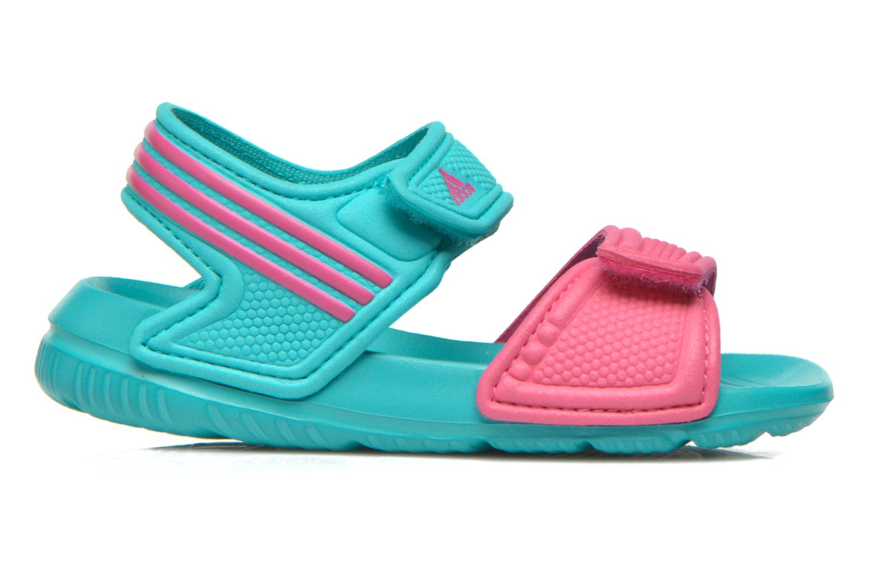 Sandales et nu-pieds Adidas Performance Akwah 9 I Vert vue derrière