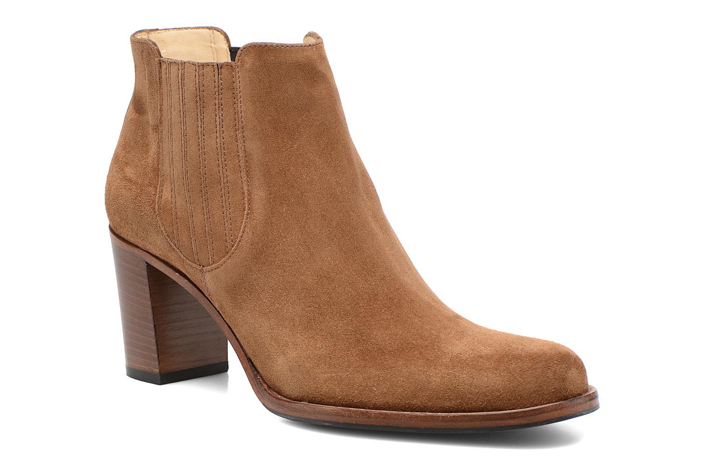 Bottines et boots Free Lance Legend 7 Boot Elast Marron vue détail/paire