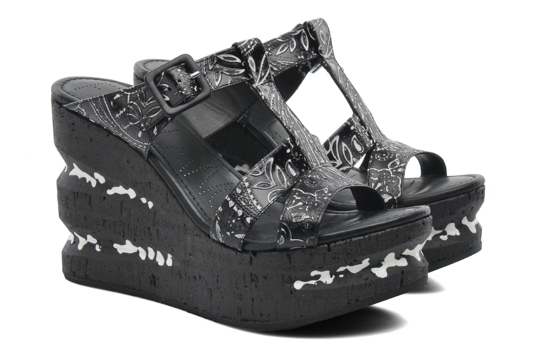 Mules et sabots Free Lance Heavy 7 sandale Multicolore vue 3/4