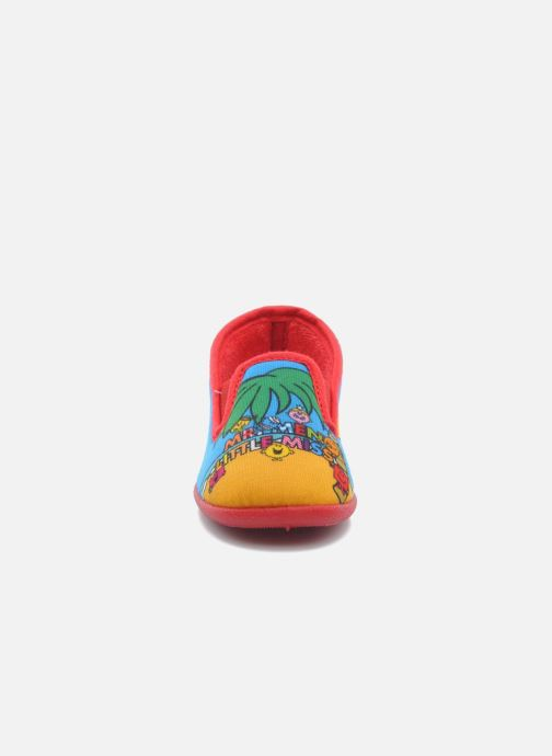 Slippers Be Only Sans gene Mr Beach Multicolor model view