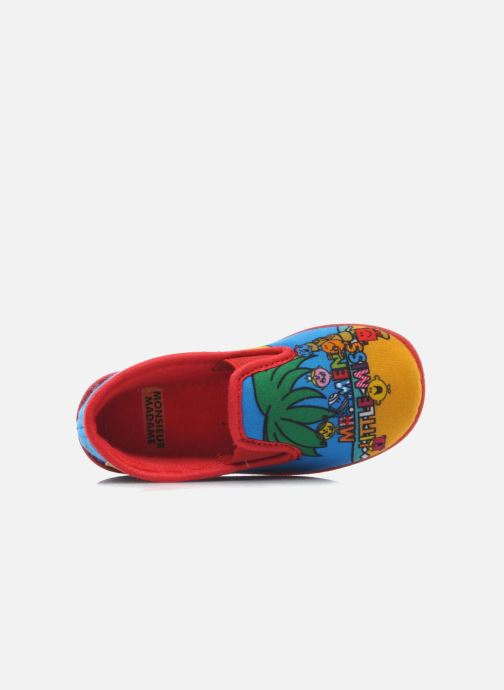 Chaussons Be Only Sans gene Mr Beach Multicolore vue gauche