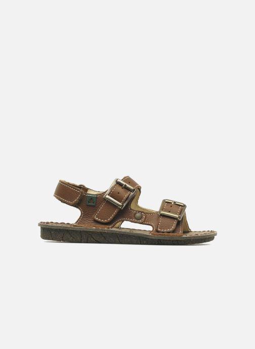 Sandales et nu-pieds El Naturalista Kiri E277 Marron vue derrière