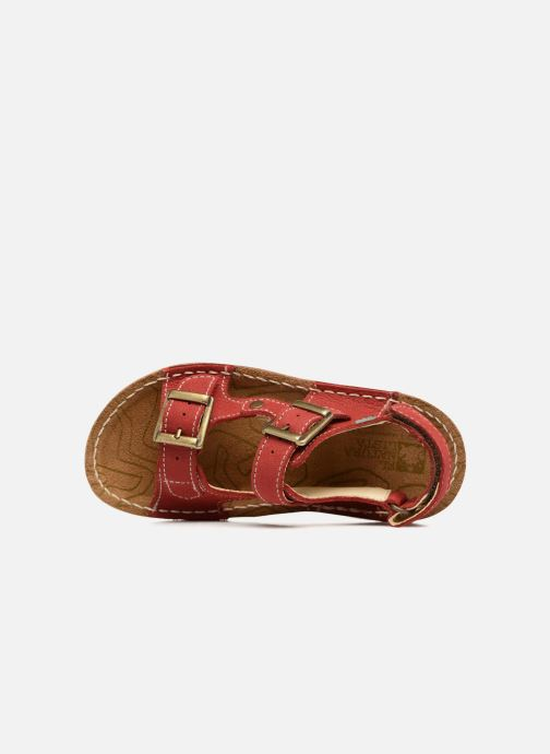 Sandales et nu-pieds El Naturalista Kiri E277 Rouge vue gauche