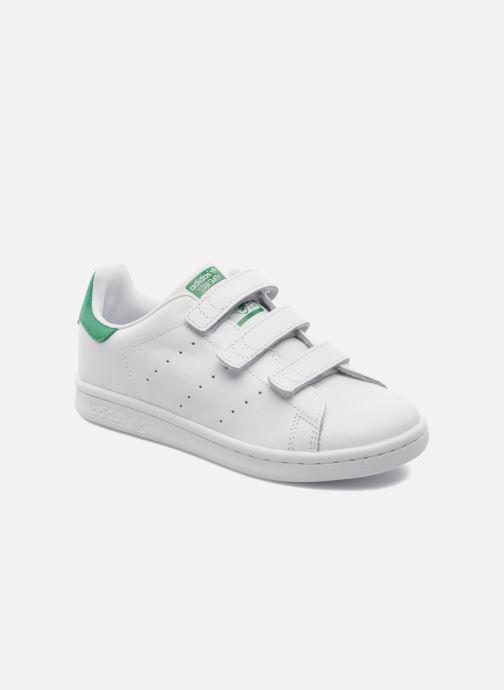 detailed look b3d3c 47be1 Baskets adidas originals Stan Smith Cf C Blanc vue détail paire