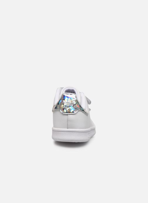 Deportivas adidas originals Stan Smith Cf C Blanco vista lateral derecha