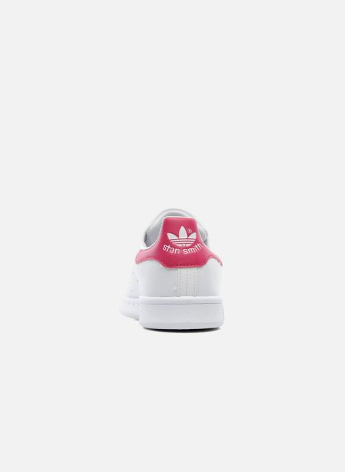 Trainers adidas originals STAN SMITH J White view from the right