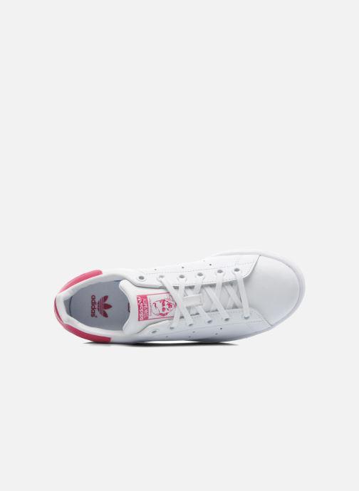 Baskets adidas originals STAN SMITH J Blanc vue gauche