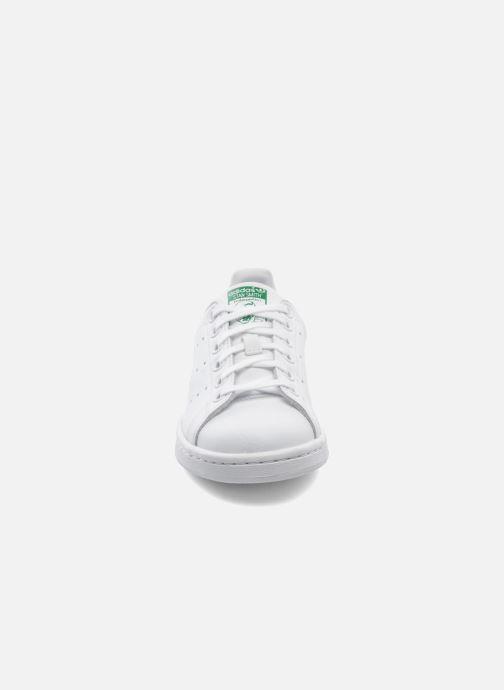online retailer cd74a fa213 Baskets adidas originals STAN SMITH J Blanc vue portées chaussures