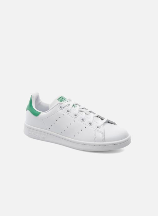 meet 47283 a2fad Baskets adidas originals STAN SMITH J Blanc vue détail paire