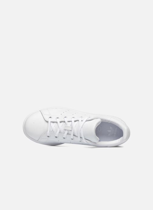 Deportivas adidas originals STAN SMITH J Blanco vista lateral izquierda