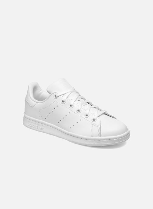 Deportivas adidas originals STAN SMITH J Blanco vista de detalle / par